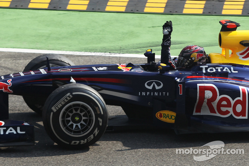 Vettel title edges closer with Monza win