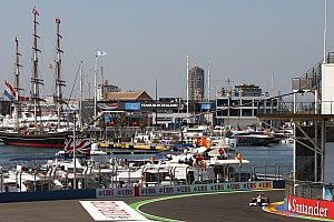 HRT to set up camp at Valencia harbour - report