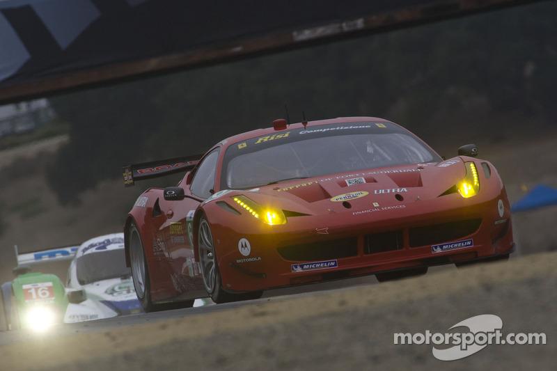 Risi Competizione Laguna Seca qualifying report