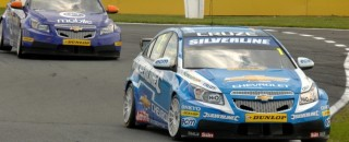 BTCC Plato Takes Rockingham Pole