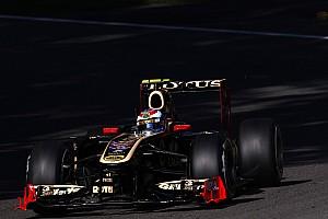 Formula 1 Lotus Renault Singapore GP Friday practice report