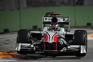 HRT Singapore GP race report