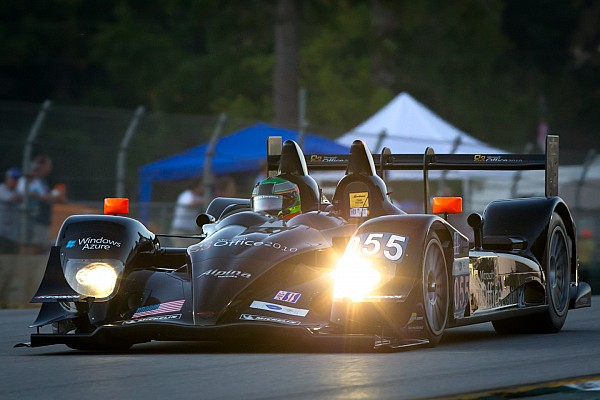 Level 5 Motorsports celebrates LMP2 pole at Petit Le Mans