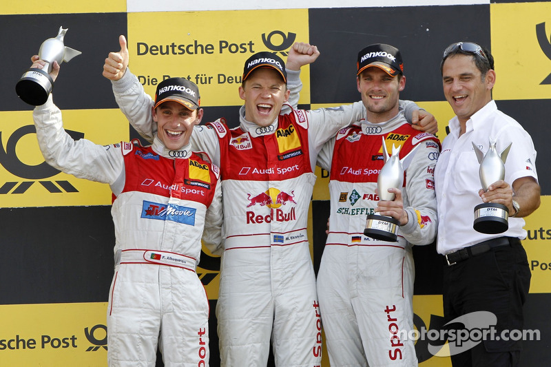 Audi driver Martin Tomczyk is DTM Champion