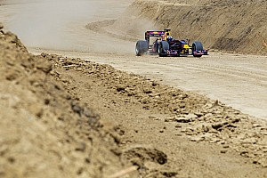 Formula 1 Work finally resumes at 2012 US GP site