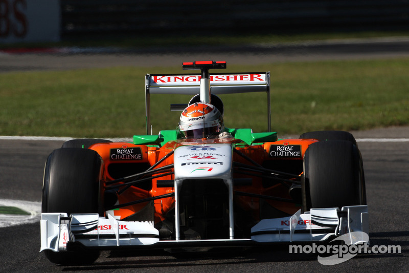 Force India Japanese GP - Suzuka Friday practice report