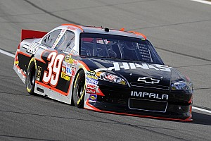 NASCAR Sprint Cup Ryan Newman fights ill-handling car at Kansas II