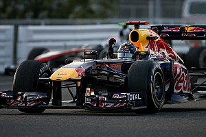 Formula 1 Vettel celebrated title with Suzuka 'donuts'