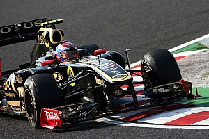 Lotus Renault Korean GP - Yeongam qualifying report