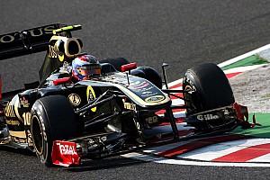 Formula 1 Lotus Renault Korean GP - Yeongam qualifying report
