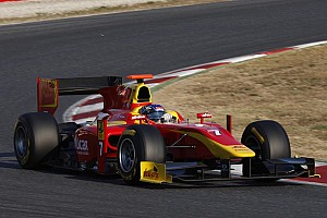 GP2 Leimer tops two day test in Barcelona
