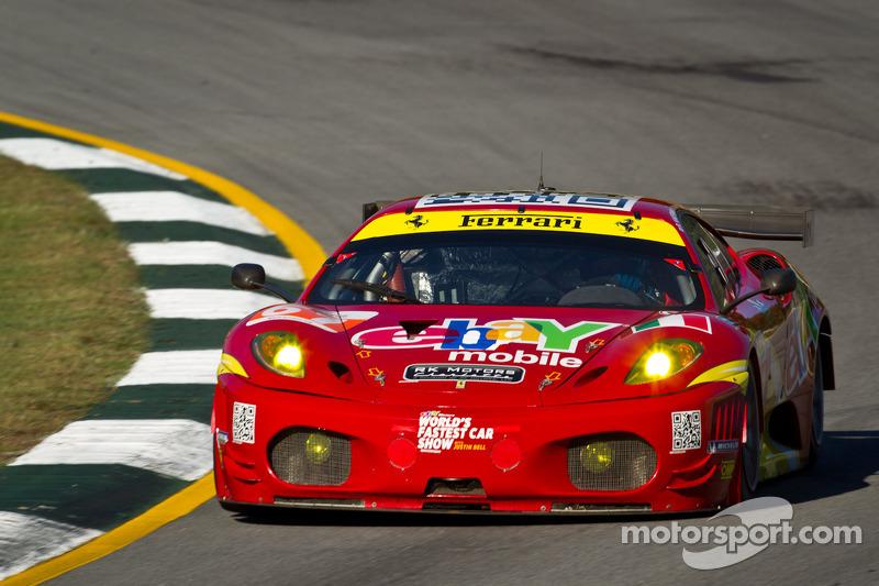 AF Corse Racing Petit Le Mans race report