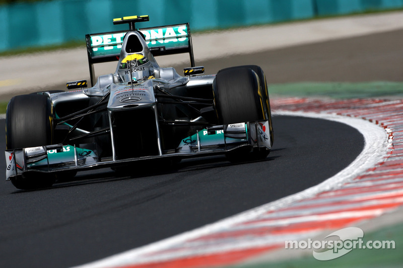 Mercedes Indian GP Friday practice report
