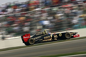 Lotus Renault Indian GP race report