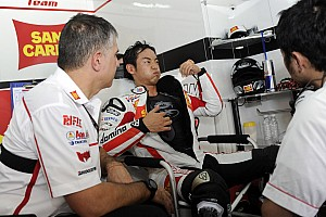 Gresini Racing  Valencian GP qualifying report