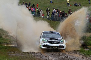 WRC Symtech Racing preps Subaru for Wales Rally GB