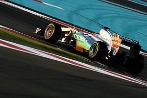 Mercedes Abu Dhabi GP qualifying report