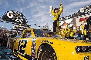 NASCAR XFINITY Sam Hornish Jr. gets first series win at Phoenix