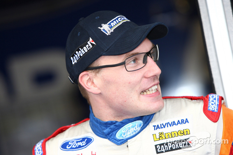 Ford's Latvala in Wales Rally lead on day three