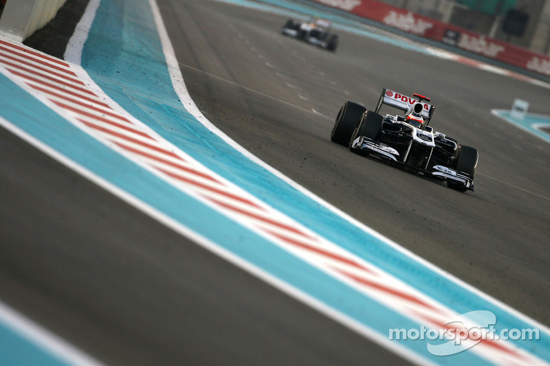 Williams Abu Dhabi GP race report