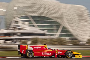 GP2 Racing Engineering Abu Dhabi race 2 report