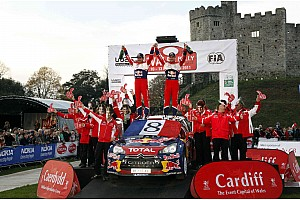 WRC Citroen Wales Rally GB final leg summary