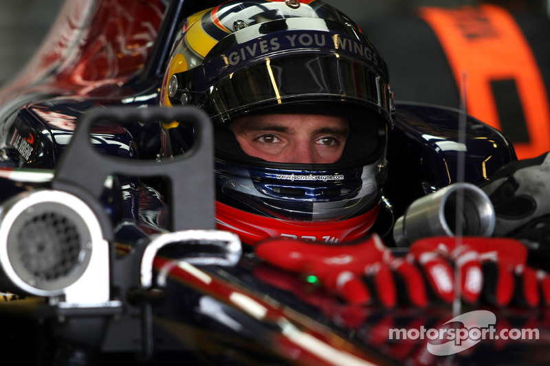 Red Bull Abu Dhabi young driver test Tuesday report