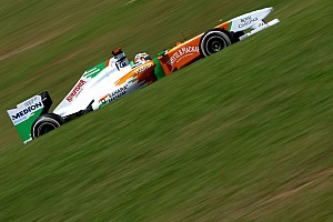 Force India Brazilian GP Friday practice report