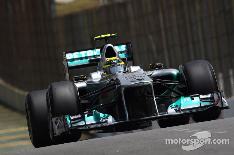 Mercedes Brazilian GP race report