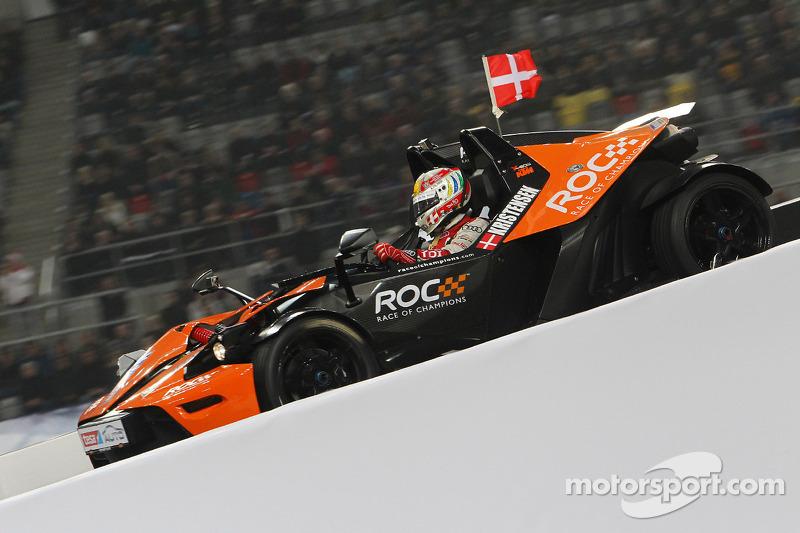 Audi's Tom Kristensen makes ROC finale