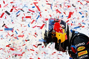Red Bull Racing receive rapturous welcome home in Milton Keynes