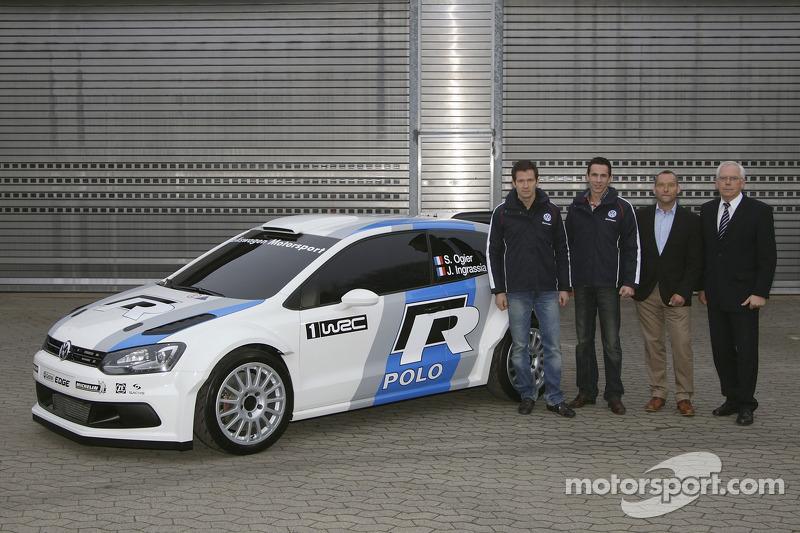 Sebastien Ogier to launch Volkswagen program in Monte Carlo