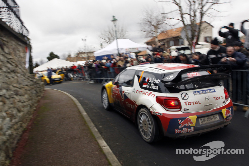 Citroën Monte Carlo Rally leg 3 summary