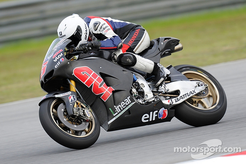 LCR Honda Sepang test day 1 report
