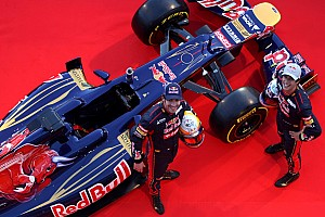 Formula 1 Toro Rosso showed the world their new STR7 in Jerez