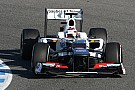 Sauber Jerez test day 4 report