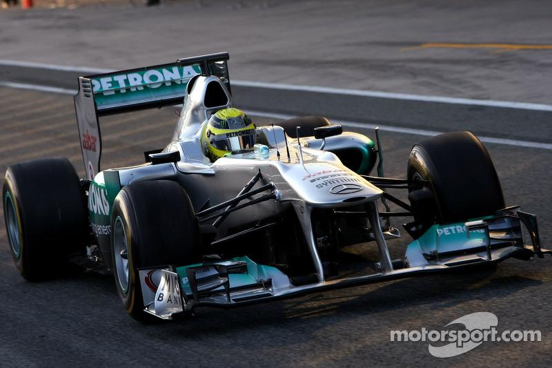 Mercedes Jerez test day 3 report