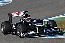 Williams Jerez test day 2 report