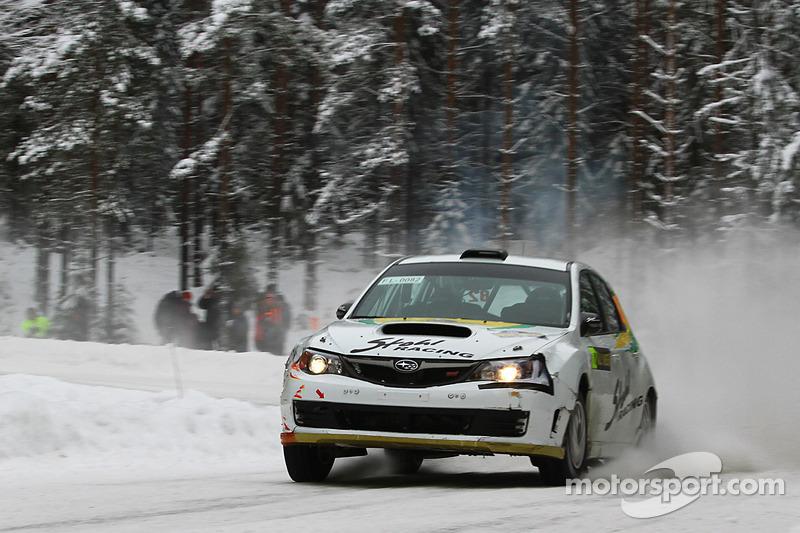 Daniel Oliveira Rally Sweden leg 2 summary