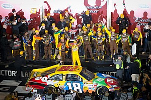 Kyle Busch Daytona Shootout race report