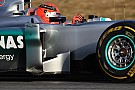 Mercedes Barcelona testing -  Day 1 report
