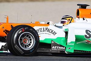 Sensational Hulkenberg fastest at second day of Barcelona test