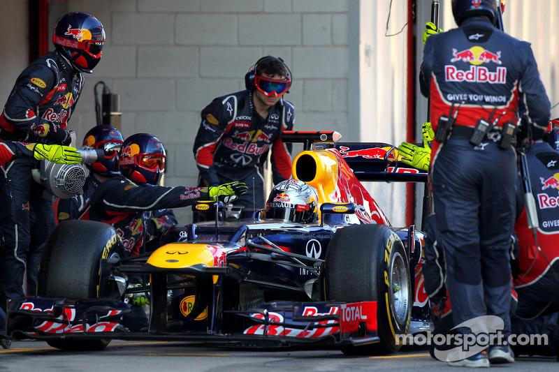 Red Bull Barcelona testing -  Day 2 report
