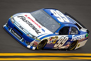 NASCAR Sprint Cup Edwards reflects on his 1st Daytona pole