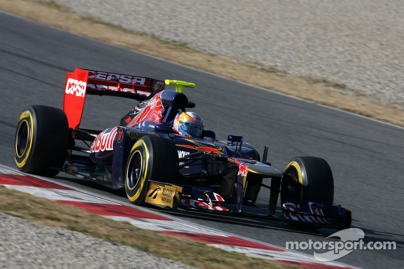 Toro Rosso Barcelona testing -  Day 4 report
