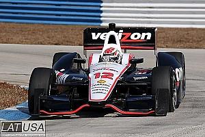 Briscoe fastest at Infineon Raceway test