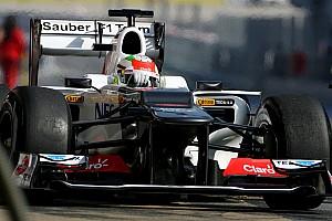 Formula 1 Sauber Barcelona test II -  Day 1 report