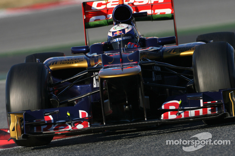 Toro Rosso Barcelona test II -  Day 3 report