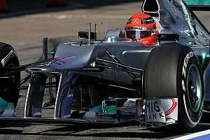 Mercedes Barcelona test II -  Day 4 report