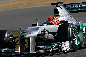 Formula 1 Schumacher quickest for Mercedes in practice 2 for Australian GP